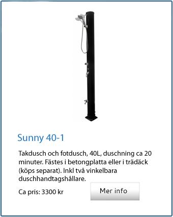 Sunny 40 dusch